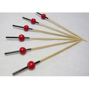 珠かんざし串(10本入)赤 9cm|k-koubou