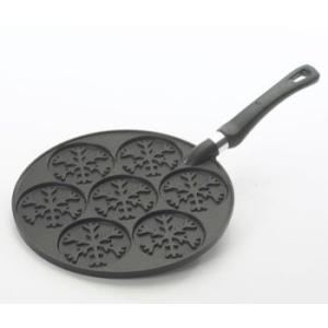 【セール品】Nordicware(ノルディックウェアー)スノーフレークパンケーキパン 01990 【在庫限り】|k-koubou