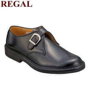 あすつく対応 送料無料 リーガル 靴 メンズ モンクストラップ 日本製 REGAL JU16AG ビ...