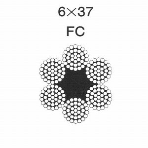 ワイヤーロープ6×37 12mm|k-liftec