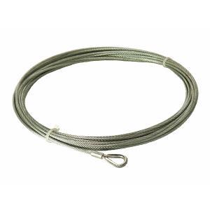 使用ワイヤーロープ 6×19 G/O メッキ 4mm×21m(JIS規格外ロープ使用)