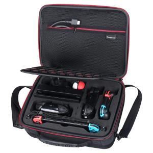 「商品情報」Smatree Nintendo Switch収納ケース大容量,収納バッグ,全面保護型N...