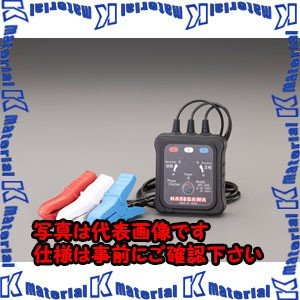 【P】ESCO(エスコ) 三相 AC80-600V 検相器 EA711MH-1