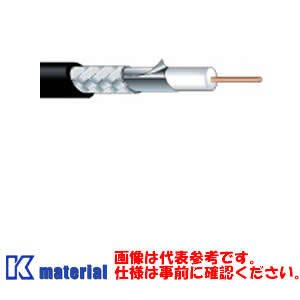 【代引不可】 カナレ電気 CANARE 75Ωカラー同軸ケーブル 高発泡絶縁体タイプ L-4.5CHD 100m巻 4.5C 固定配線用 シース黒 [KA0322]|k-material