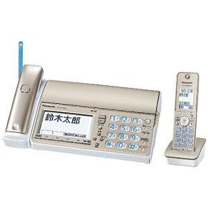 パナソニック デジタルコードレス普通紙ファクス(子機1台付き) シャンパンゴールド KX-PZ710DL-N|k-media