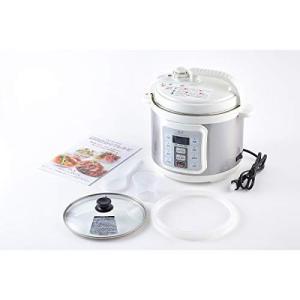 D&S(ディーアンドエス) 電気圧力鍋4.0L STL-EC50|k-media