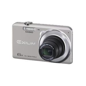 CASIO デジタルカメラ EXILIM EXZS26SR 1610万画素 光学6倍ズーム 広角26mm EX-ZS26SR シルバー|k-media
