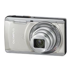 OLYMPUS デジタルカメラ μ-7050 シルバー 光学7倍ズーム ハイビジョンムービー μ-7050 SLV|k-media