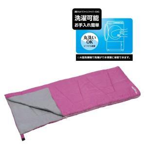 ● パール金属 キャプテンスタッグ(CAPTAIN STAG) 寝袋 洗えるシュラフ600 ピンク [最低使用温度15度] UB-4|k-mori