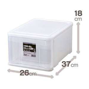 天馬 収納ケース プレクシーケース S 衣装ケース 収納ボックス TENMA 引出し収納 小物収納 4904746058546|k-mori