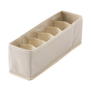 天馬 PRX プロフィックス せいとんボックス S 仕切り付 アイボリー 小物収納 引出し整理 収納ボックス 小物整理 4904746078605|k-mori