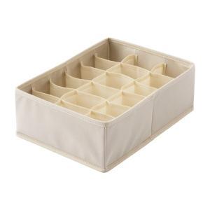 天馬 PRX プロフィックス せいとんボックス L 仕切り付 アイボリー 小物収納 引出し整理 収納ボックス 小物整理 4904746078643|k-mori