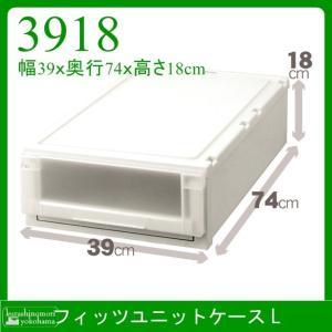 天馬 Fits フィッツユニットケース L3918 収納ケース 衣装ケース 収納ボックス TENMA FITS|k-mori