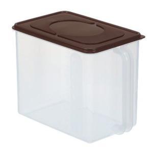 保存容器 イノマタ ハンディストッカー ブラウン キッチン 保存 ふた付 収納 ケース 4905596122579|k-mori