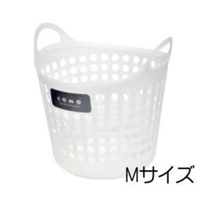 イノマタ コモ バスケット M ナチュラル ランドリー 洗濯 かご おもちゃ入れ 4905596446286|k-mori