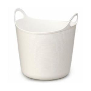 イノマタ アルゴ L 万能カゴ ホワイト ランドリー 洗濯 かご おもちゃ入れ 4905596447061|k-mori