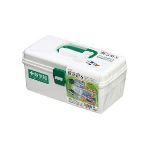 不動技研 F2485 救急箱・S W ホワイト くすり入れ 薬箱 常備薬 収納 救急用品 4962191485409 k-mori
