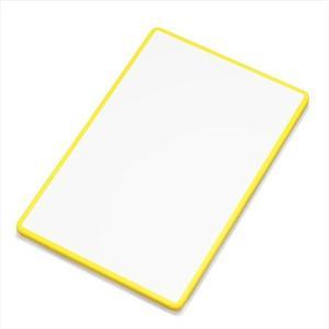 新輝合成 軽い2色 まな板L イエロー (キッチン/調理器具/抗菌加工) k-mori