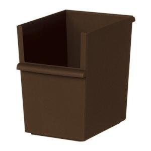収納ケース 吉川国工業所 JUST-IT コンテナースリム 深 ブラウン JT-04 収納ケース 収納ボックス システム|k-mori