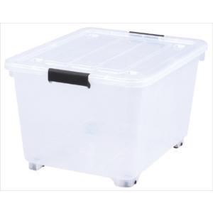 サンカ/サンイデア コロ付収納ボックス コロコロケース 50深 クリア Y-8050|k-mori