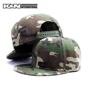 キャップ CAP  帽子 迷彩 カモフラ 3色 調整可 56cmから60cm 男 メンズ 大人 ダンス スケボー BMX サーフィン ストリート k-n-int 08