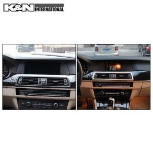 カーボン柄 BMW 5シリーズ F10 F11 セダン ツーリング フロント 中央送風口 周りのパネル 左右ハンドル用|k-n-int|04