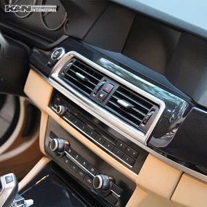 カーボン柄 BMW 5シリーズ F10 F11 セダン ツーリング フロント 中央送風口 周りのパネル 左右ハンドル用|k-n-int|05