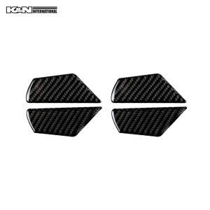 カーボン柄 VW フォルクスワーゲン GOLF7 ゴルフ7 ドア インナーハンドル パネル 前後左右1台分set 左右ハンドル用 内装 インテリア|k-n-int|02