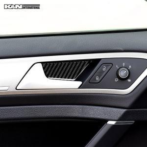 カーボン柄 VW フォルクスワーゲン GOLF7 ゴルフ7 ドア インナーハンドル パネル 前後左右1台分set 左右ハンドル用 内装 インテリア|k-n-int|03