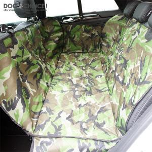 犬 ペット 子供 サーフィン スノーボード アウトドア 迷彩 カモフラ サイドガード付 チャックで分割 ドライブシート カーシート カバー 水洗いOK|k-n-int|07