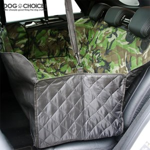 犬 ペット 子供 サーフィン スノーボード アウトドア 迷彩 カモフラ サイドガード付 チャックで分割 ドライブシート カーシート カバー 水洗いOK|k-n-int|09