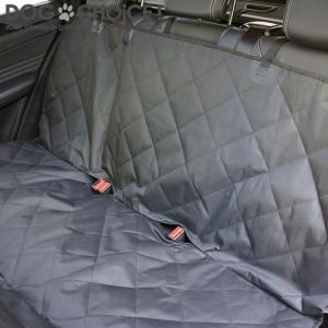 犬 ペット 子供 サーフィン スノーボード アウトドア チャックで分割 ドライブシート カーシート カバー 軽自動車 普通車 後部座席 セカンドシート|k-n-int|06