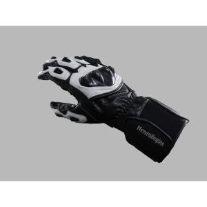 デイトナ HBG-002 スポーツロンググローブII (黒/白) L 79498|k-oneproject