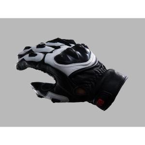 デイトナ HBG-004 スポーツショートグローブII (黒/白) XL 79505|k-oneproject