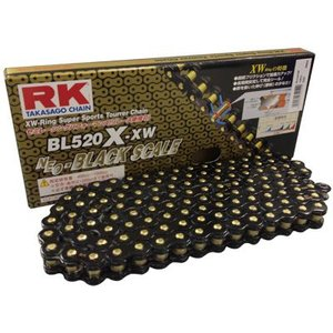 RKチェ−ン BL520X-XW-120L ブラック 520-120|k-oneproject