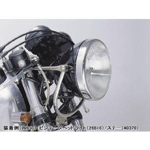 DAYTONA デイトナ 【汎用】φ160 ビンテージヘッドライト H4バルブ [ブラック] 95636|k-oneproject