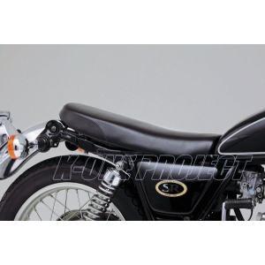DAYTONA デイトナ COZYシート SR400/500 ショートロー[COMP/プレーン] ブラック