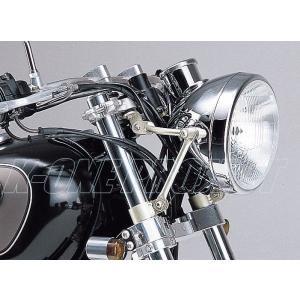 DAYTONA デイトナ SR400/500(78-06) ステンレスパイプライトステー 44275|k-oneproject