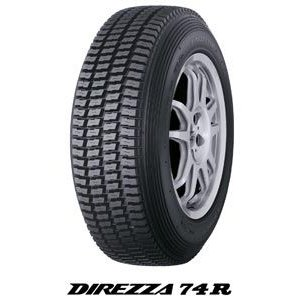 DUNLOP ダンロップ DIREZZA(デリッツァ)74R  ラリー・ダートトライアル競技用 タイヤ 185/65R14 185-65-14|k-oneproject
