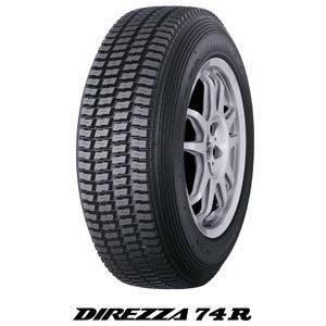 DUNLOP ダンロップ DIREZZA(デリッツァ)74R  ラリー・ダートトライアル競技用 タイヤ 185/65R15 185-65-15 k-oneproject