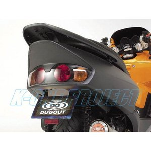 DUGOUT ダグアウトFORZA250/S -03 フェンダーレスキット シルバー|k-oneproject