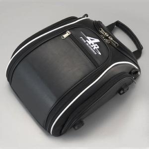 キジマ ストリームラインシートバック 9L ブラック/ホワイト FR-A00006|k-oneproject
