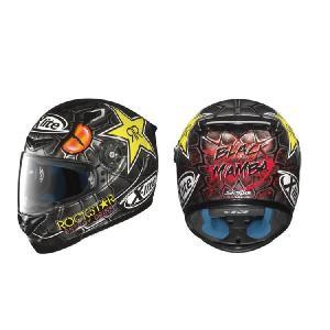 NOLAN X-Lite X-802R Lorezo BLACK MAMBA(ロレンソ ブラック マンバ) レプリカモデル フルフェイス ヘルメット|k-oneproject