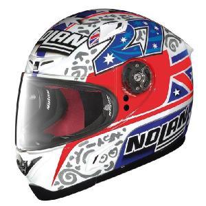 NOLAN X-Lite X-802R Stoner P.I. (ストーナー P.I. ホワイト) レプリカモデル フルフェイス ヘルメット|k-oneproject