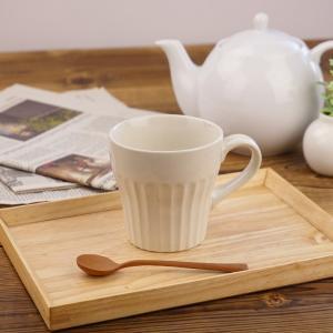 しのぎ マグカップ 300cc アウトレット込 日本製 美濃焼 陶器 カップ 和食器 コップ コーヒ...