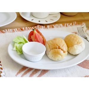 洋食器 オーバルリムプレート 25.7cm 大皿 日本製 アウトレット 白い食器 ホテル食器 レスト...