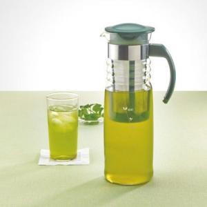 【HARIO】最安値に挑戦 ハリオ かご付き水出し茶ポット 実用容量:1200cc