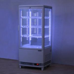 レマコム前開き4面冷蔵ショーケースLED仕様RCS-4G84SL|k-s-store|01