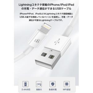 ライトニングケーブル Apple認証 Ligh...の詳細画像1
