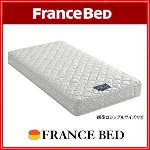 フランスベッド マットレス セミダブル 高密度 連続 スプリング DURA TECHNO|k-style